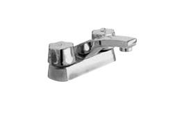 Mezcladora lavabo s man vta complet 46 urrea for Llaves mezcladoras para lavabo urrea